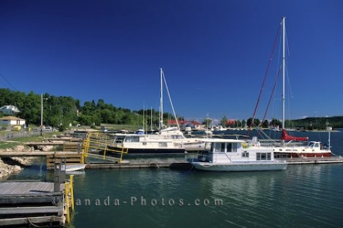 Photo: Lake Huron Harbour Ontario