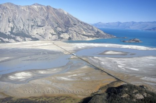 Photo: Lake Kluane National Park