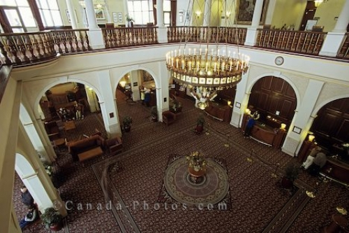 Photo: Lake Louise Hotel Banff National Park