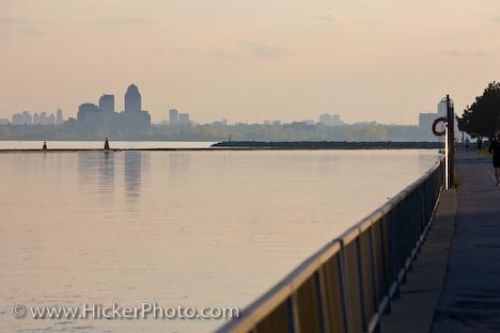 Photo: Lake Ontario Waterfront Scenery Toronto Ontario