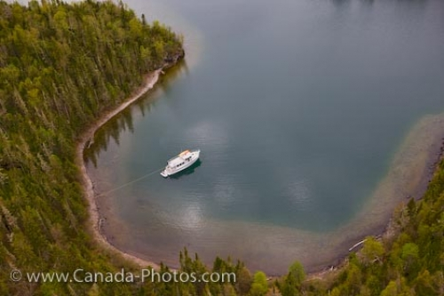 Photo: Lake Superior Luxury Boat Thunder Bay Ontario