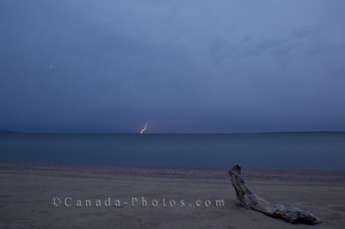 Photo: Lake Superior Storm Ontario Canada
