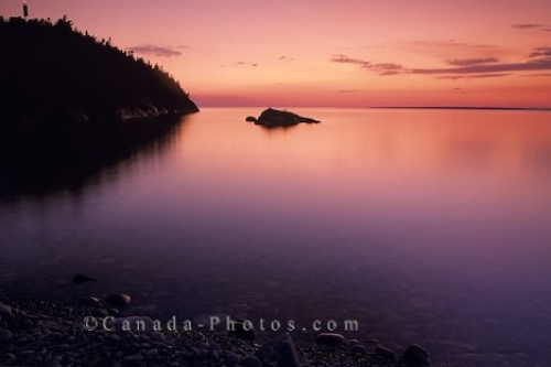 Photo: Lake Superior Sunset Ontario