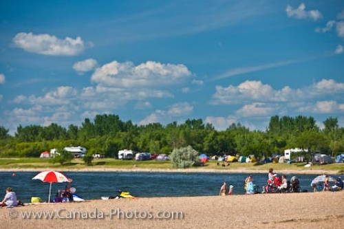 Photo: Last Mountain Lake Summer Camping Qu Appelle Valley