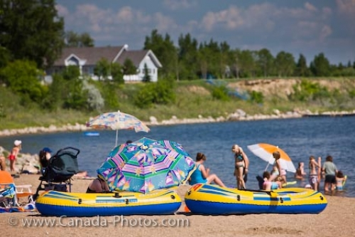 Photo: Last Mountain Lake Vacationers Rowans Ravine Provincial Park
