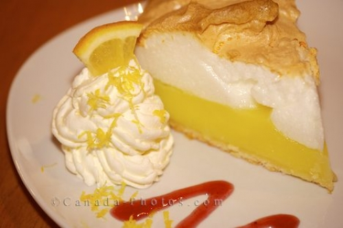 Photo: Lemon Meringue Pie Tuckamore Lodge