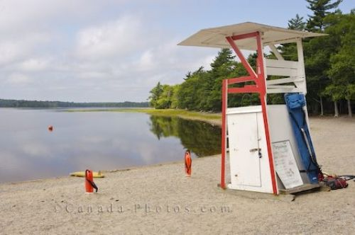 Photo: Lifeguard Station Kejimkujik National Park Nova Scotia