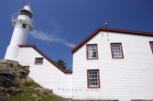 Photo: Lobster Cove Lighthouse Heritage Building Newfoundland Canada