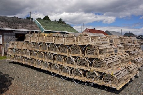 Photo: Lobster Fishing Traps Prince Edward Island