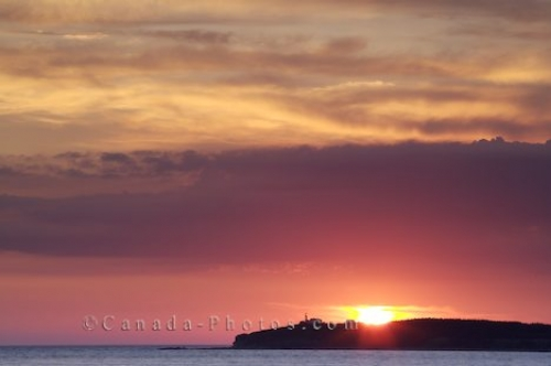 Photo: Magic Sunset Colors Newfoundland Labrador