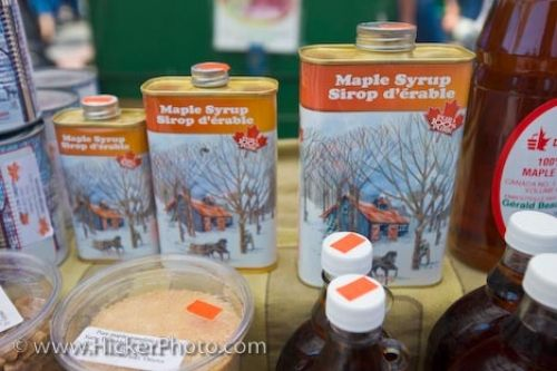Photo: Maple Syrup Market Stall Byward Market Ottawa City