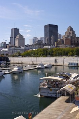 Photo: Marina Boats Jacques Cartier Basin Montreal