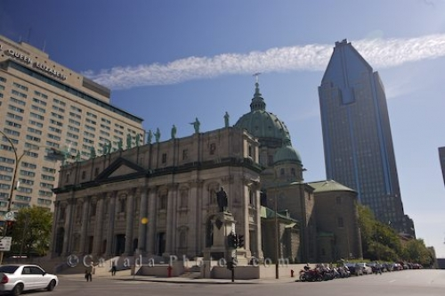 Photo: Mary Queen Of The World Cathedral Montreal City Quebec