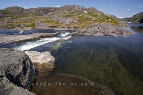 Photo: Mealy Mountains Lake Southern Labrador