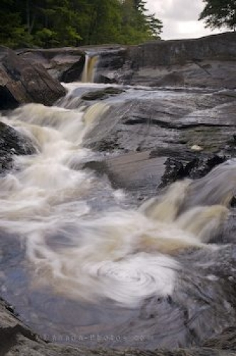 Photo: Mill Falls Kejimkujik National Park Nova Scotia