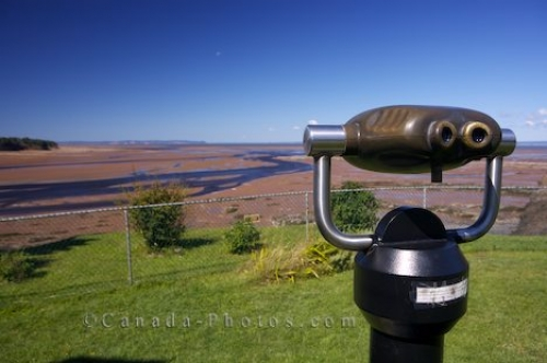 Photo: Minas Basin Binoculars Walton Nova Scotia