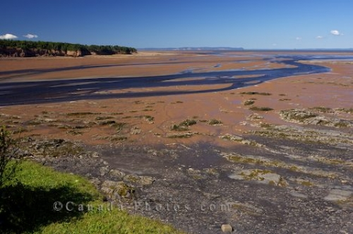 Photo: Minas Basin Low Tide Scenery Nova Scotia Canada