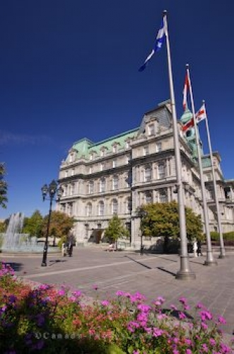 Photo: Montreal City Hall Picture Quebec
