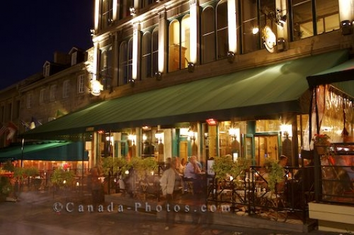 Photo: Montreal Dining Place Jacques Cartier