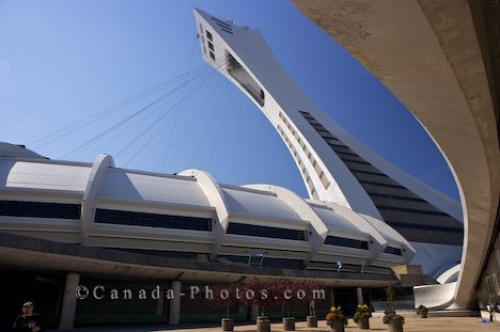 Photo: Montreal Tower Olympic Park Quebec