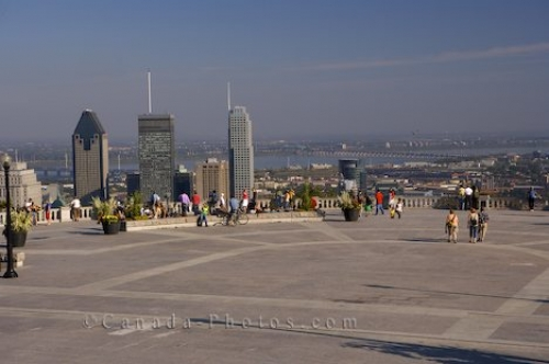 Photo: Mount Royal Park Scenery Montreal City Quebec