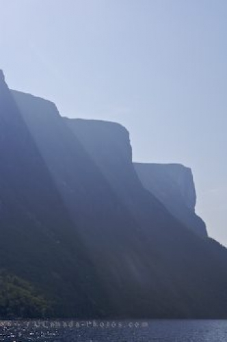 Photo: Mountain Scenery Western Brook Pond Newfoundland