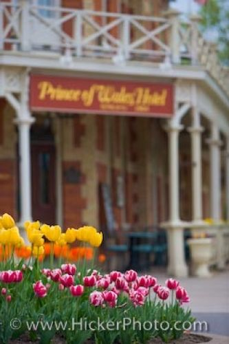 Photo: Niagara On The Lake Historic Hotel Blossoming Gardens Ontario