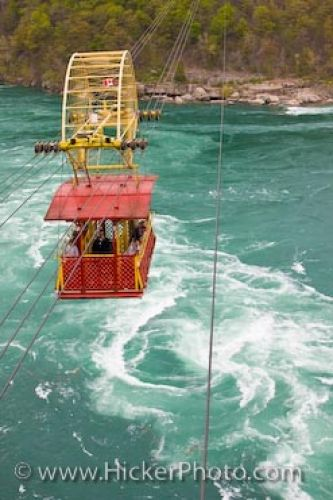 Photo: Niagara River Spanish Aero Car Whirlpool Rapids Ontario