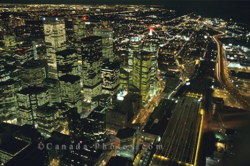 Photo: Night Lights Toronto
