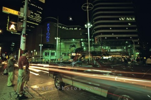 Photo: People Nightlife Downtown Toronto