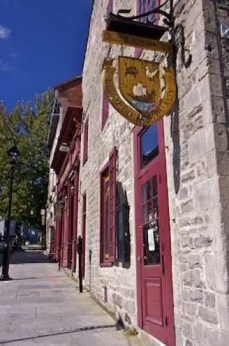 Photo: Old Montreal Restaurant Quebec Canada