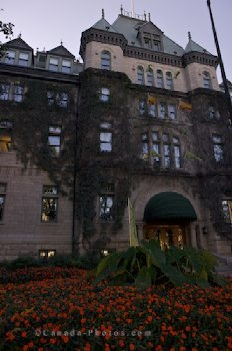 Photo: Old Quebec Hotel De Ville Building