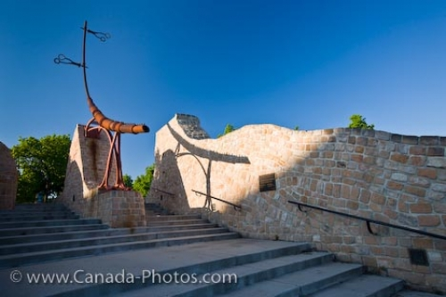 Photo: Oodena Celebration Circle Sculpture The Forks