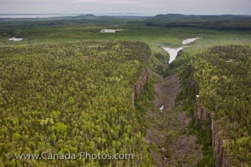 Photo: Aerial View Of Ouimet Canyon