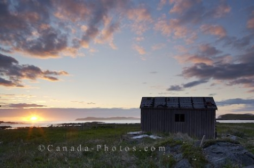 Photo: Outdoor Shed L Anse Aux Meadows Newfoundland