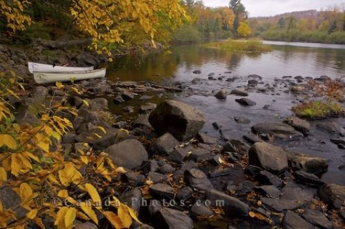 Photo: Oxtongue River Rocky Banks Ontario Canada