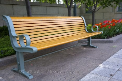 Photo: Park Bench Church
