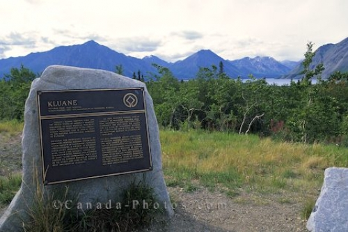 Photo: Park Sign Yukon Territory
