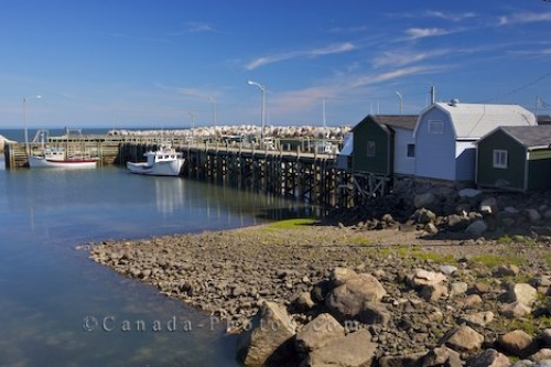 Photo: Parkers Cove Fishing Boats Nova Scotia Canada