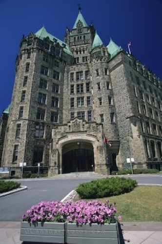 Photo: Parliament Building Entrance Ottawa Ontario