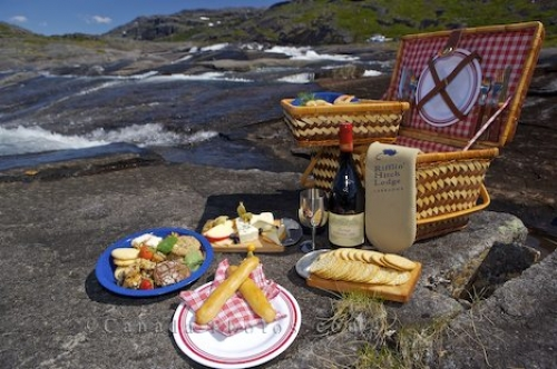 Photo: Picnic Basket Mealy Mountains Southern Labrador