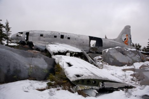 Photo: Plane Wreck Miss Piggy Churchill Manitoba