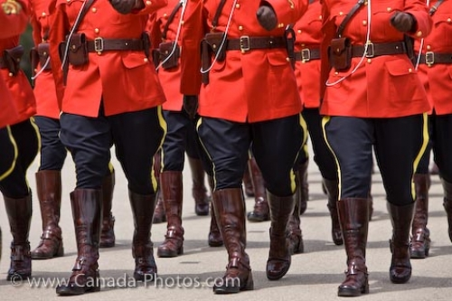 Photo: Royal Canadian Mounted Police Marching