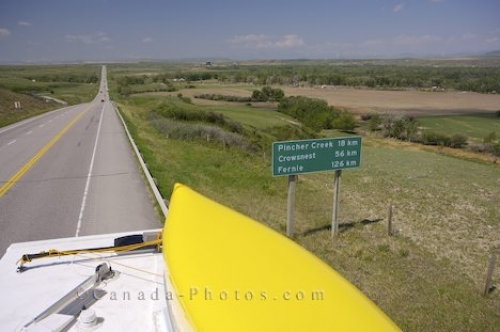 Photo: Prairie Highway Southern Alberta