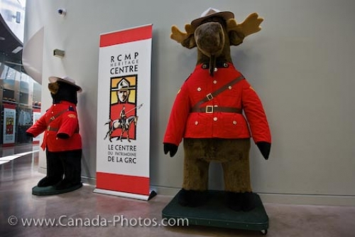 Photo: RCMP Heritage Centre Mascots Regina Saskatchewan