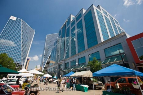 Photo: Regina City Market Stalls Saskatchewan Canada