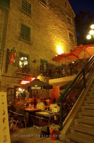 Photo: Restaurant Quartier Petite Champlain Old Quebec