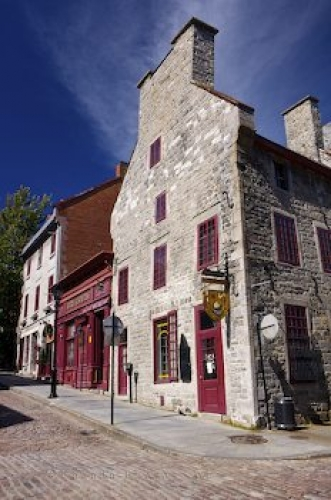 Photo: Restaurant Rue Saint Paul Old Montreal Quebec