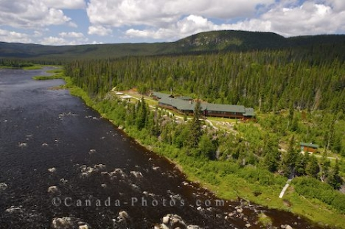 Photo: Rifflin Hitch Lodge Aerial Southern Labrador