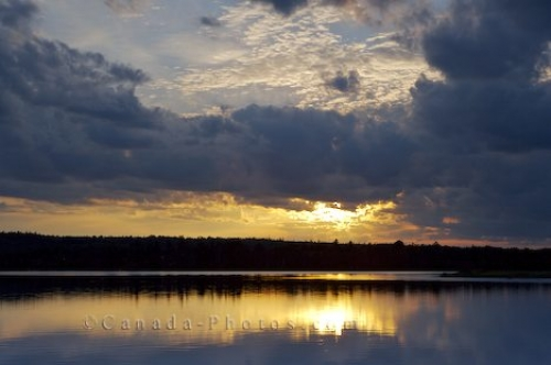 Photo: River Sunset Sherbrooke Nova Scotia
